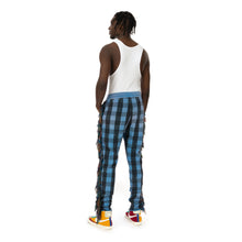 將圖像加載到畫廊查看器中ALCHEMIST | I Wanna Be Sadated Joggers Blue / Black Check - Concrete
