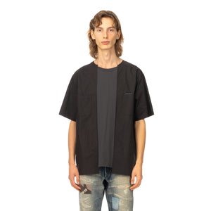 AMBUSH | Mix T-Shirt Black / Dark Grey - Concrete