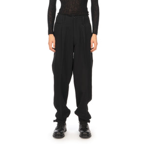 AMBUSH | Wool Nikka Pants Black - Concrete