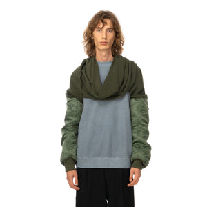 AMBUSH | Mix MA-1 Sleeve Scarf Khaki - Concrete