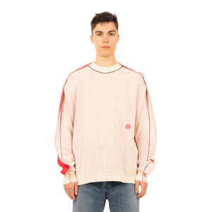 AMBUSH | Fin Knit Sweater White / Red - Concrete
