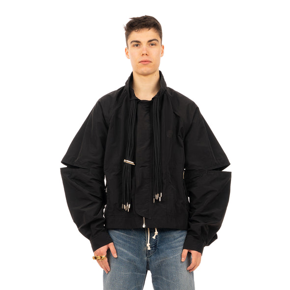 AMBUSH | Multicord Nylon Jacket Jet Black - Concrete
