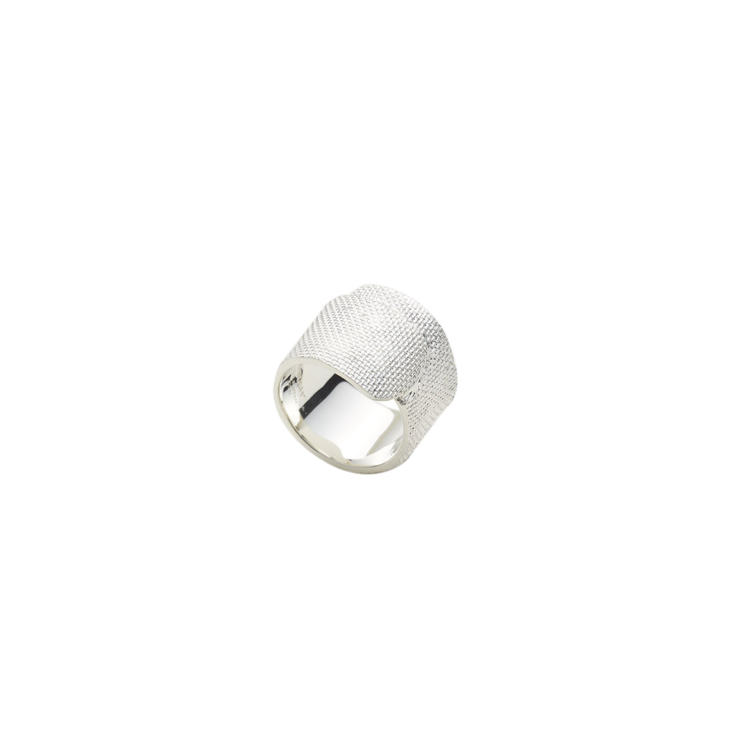 AMBUSH® | Tape Ring Silver