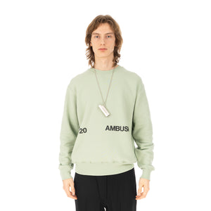 AMBUSH | Logo Lighter Case Necklace Silver - Concrete