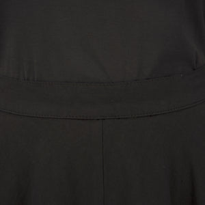 Andrea Ya'aqov Wmns Two Layer Skirt Linen Black