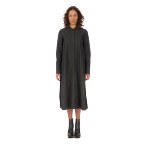 Andrea Ya'aqov Wmns Waxed Long Shirt Black