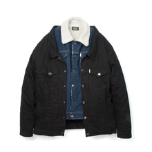 將圖像加載到畫廊查看器中Andrea Crews Double Denim Jacket Blue
