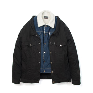 Andrea Crews Double Denim Jacket Blue - Concrete