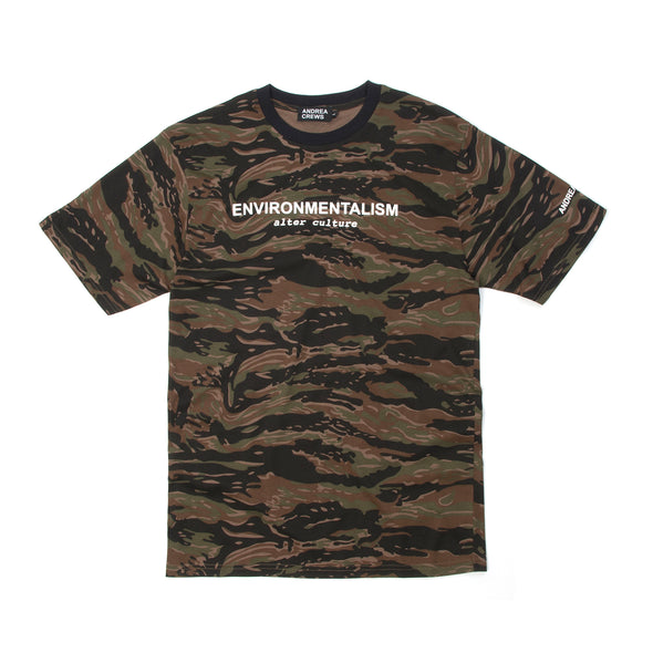 Andrea Crews Environmentalism T-Shirt Brown - Concrete