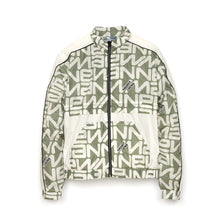 Load image into Gallery viewer, Andrea Crews 'Leo' Allover New Man Print Tracksuit Grey
