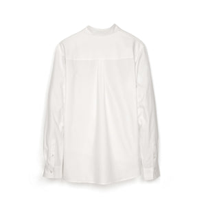 Andrea Crews 'Ratepi' Asymmetric Shirt White - Concrete