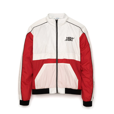 Andrea Crews 'Carlo' New Man Embroidery Jacket Red - Concrete