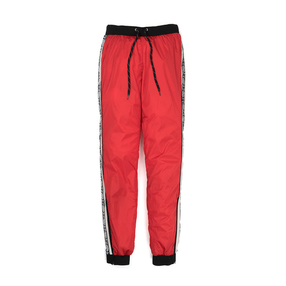 Andrea Crews 'Henri' New Man Side Band Jogging Pants Red - Concrete