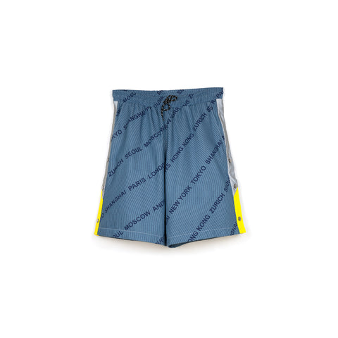 Andrea Crews 'Densho' Shorts Blue