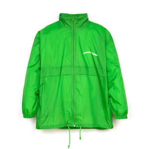 Andrea Crews 'Windy' Windbreaker Green - Concrete