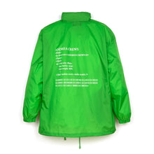 將圖像加載到畫廊查看器中Andrea Crews 'Windy' Windbreaker Green - Concrete