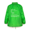 Andrea Crews 'Windy' Windbreaker Green