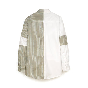 Andrea Crews 'Glishirt' White / Grey
