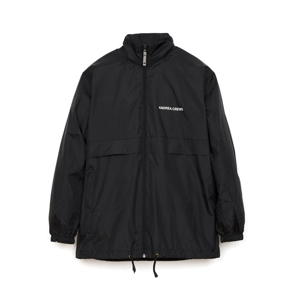 Andrea Crews 'Brigade' Youth Brigade Rain Jacket Black