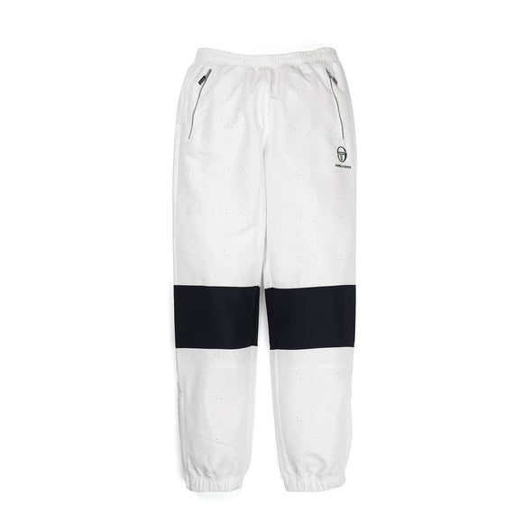 Andrea Crews x Sergio Tacchini 'Volmar' Flecked Jogging Pants White - Concrete