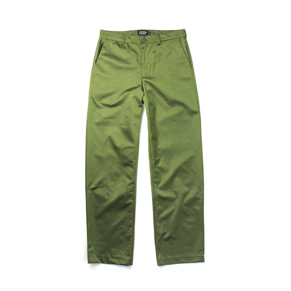 Andrea Crews 'Whiff' Baggy Pants Khaki - Concrete