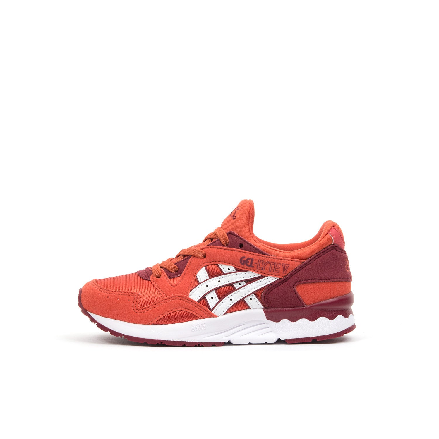 Asics Gel-Lyte V PS Chili/White - Concrete