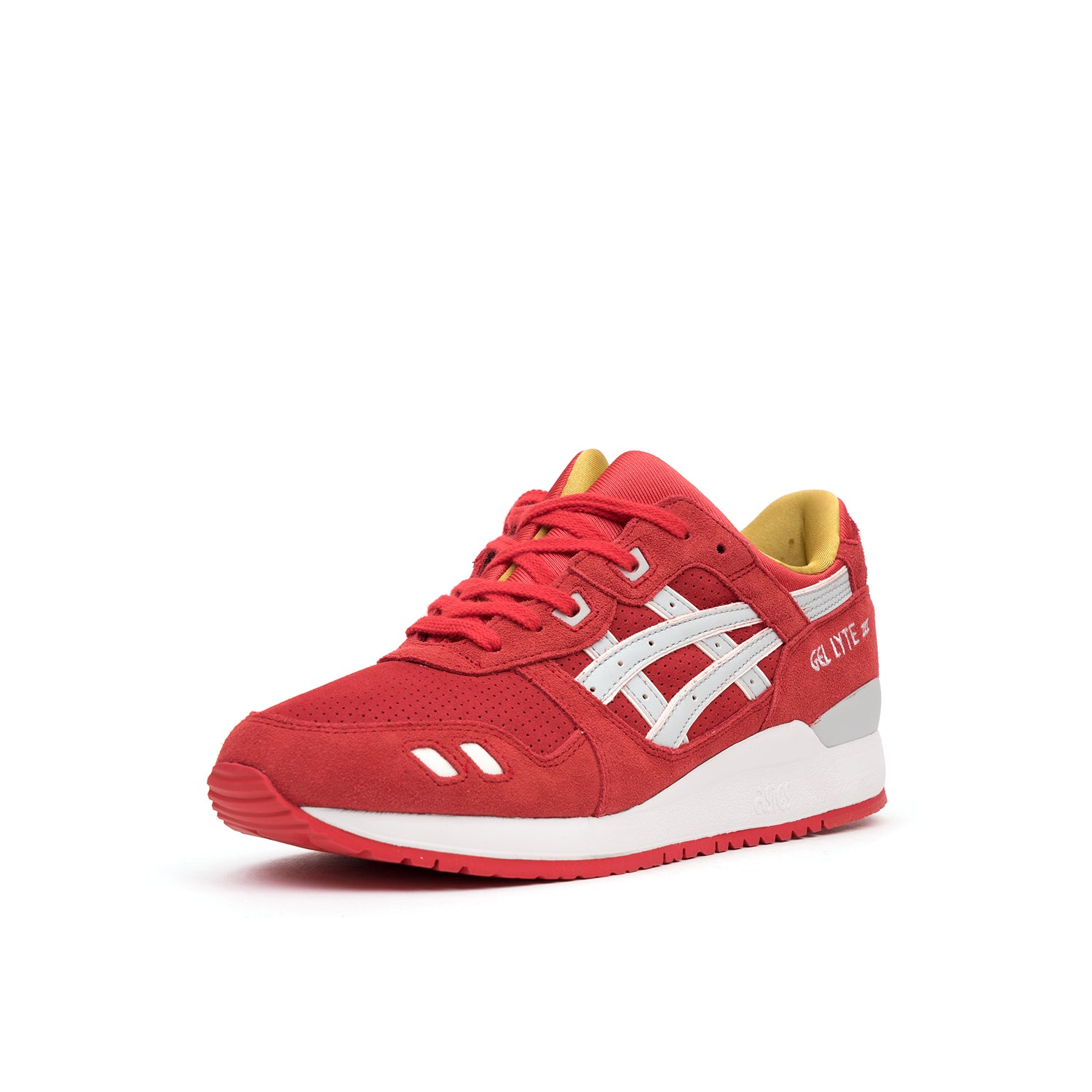 official photos ed32e dcdb9 Asics Gel Lyte III 'Santa Claus' Christmas Pack Fiery Red