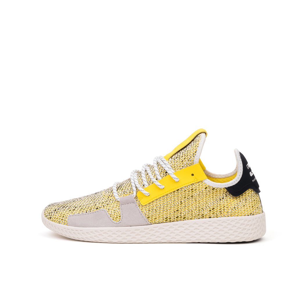 adidas Originals x Pharrell Williams 'AFRO' Solar Tennis Hu V2 Yellow - Concrete
