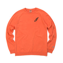 Load image into Gallery viewer, Billionaire Boys Club | Flying B Overdyed Crewneck Coral - Concrete
