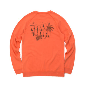 Billionaire Boys Club | Flying B Overdyed Crewneck Coral - Concrete