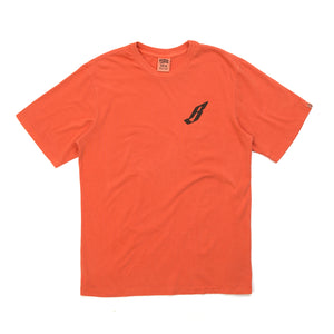 Billionaire Boys Club | Flying B Overdyed T-Shirt Coral - Concrete