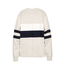 Load image into Gallery viewer, Billionaire Boys Club | Varsity Cut & Sew Crewneck White Marl