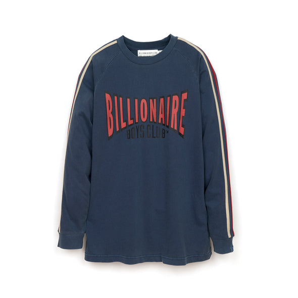Billionaire Boys Club | Racing Long Sleeve T-Shirt Navy - Concrete