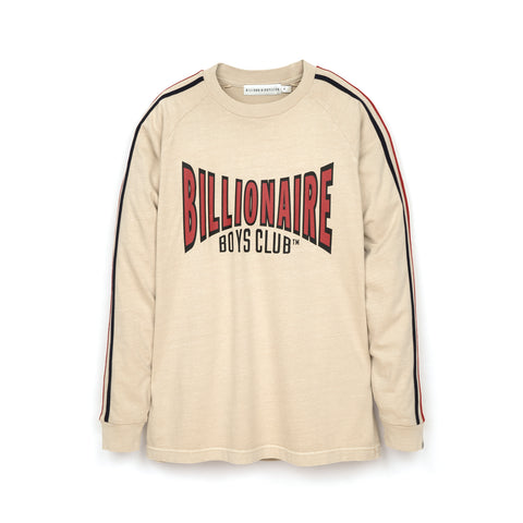 Billionaire Boys Club Racing Long Sleeve T-Shirt Off-White