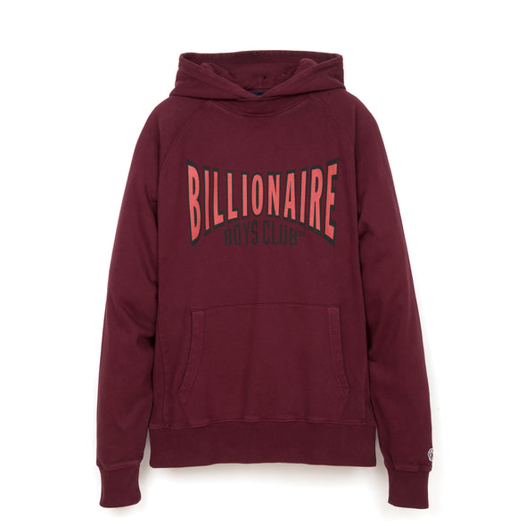 Billionaire Boys Club | Racing Logo Popover Hood Red - Concrete