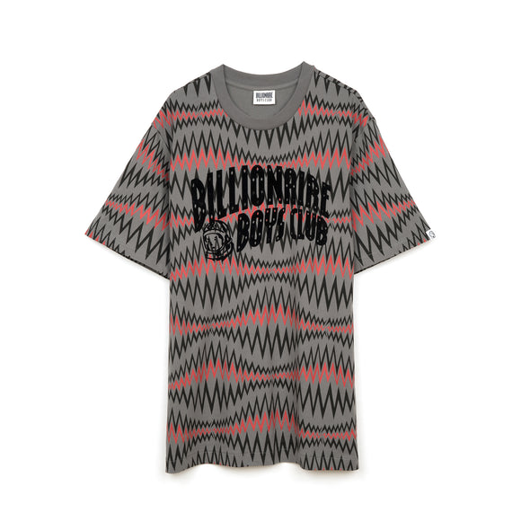 Billionaire Boys Club | Soundwave Arch Logo T-Shirt Grey - Concrete