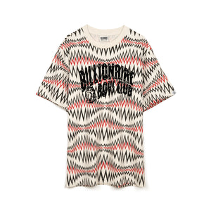 Billionaire Boys Club | Soundwave Arch Logo T-Shirt White Marl - Concrete