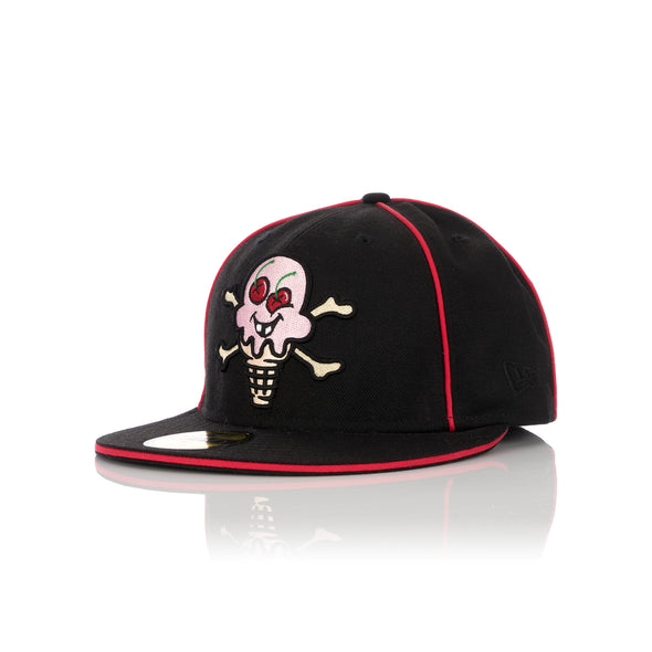 Billionaire Boys Club | Ice Cream x New Era Cones & Bones Fitted Cap Black