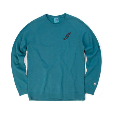 Billionaire Boys Club | Flying B Overdye Crewneck Teal
