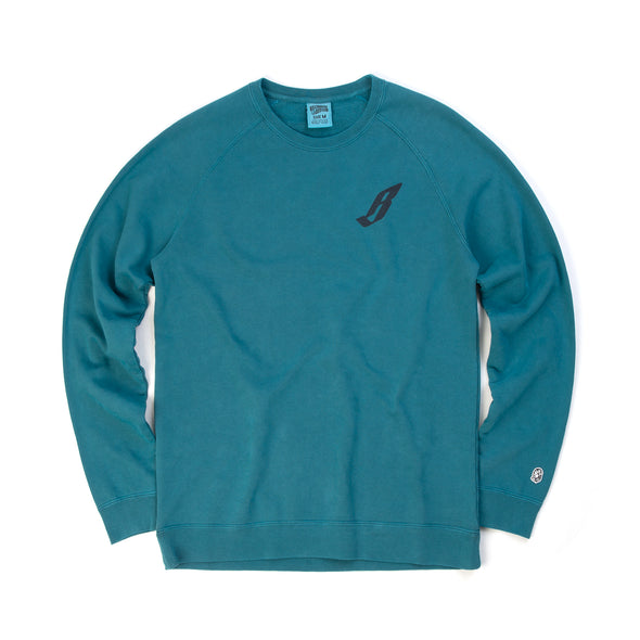 BBC Flying B Overdye Crewneck Teal
