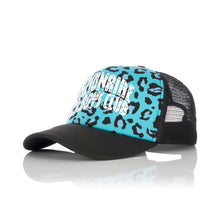 Load image into Gallery viewer, Billionaire Boys Club | Leopard Trucker Cap Blue