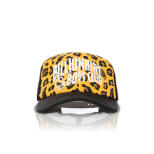 Load image into Gallery viewer, Billionaire Boys Club | Leopard Trucker Cap Yellow