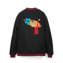 Afbeelding in Gallery-weergave laden, Billionaire Boys Club | Raygun Varsity Jacket Black