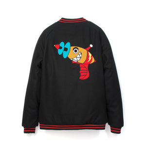 Billionaire Boys Club | Raygun Varsity Jacket Black