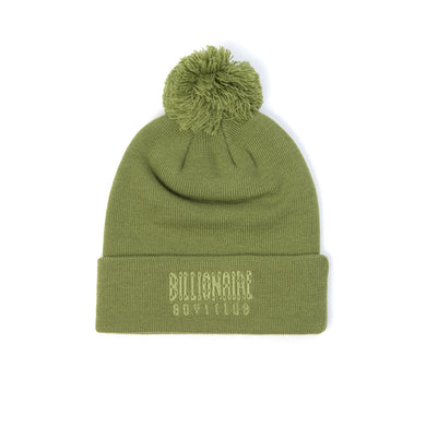 Billionaire Boys Club | Logo Ribbed Knitted Beanie Olive