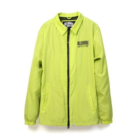 BBC Zip Coach Jacket Cyber Yellow
