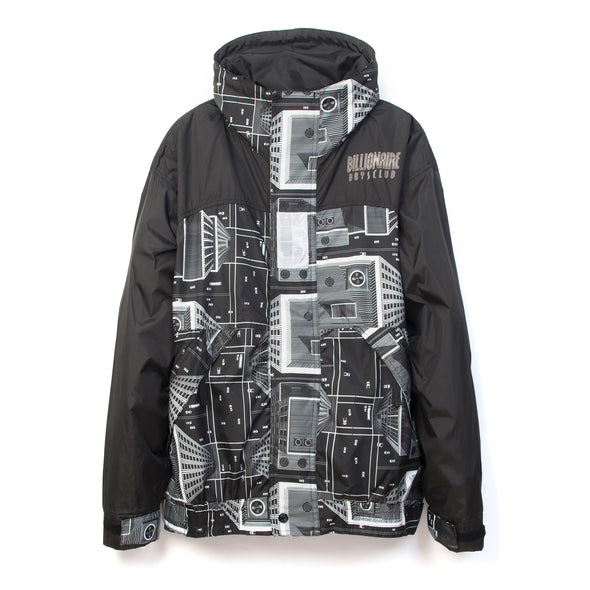 Billionaire Boys Club | Skyscraper Sailing Jacket Black/White - Concrete