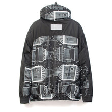 Load image into Gallery viewer, Billionaire Boys Club | Skyscraper Sailing Jacket Black/White - Concrete