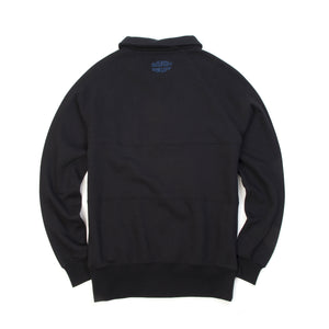 Billionaire Boys Club | Raygun Collared Crewneck Black - Concrete