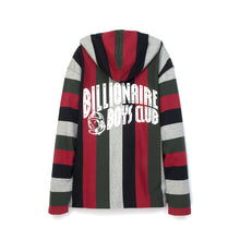 Load image into Gallery viewer, Billionaire Boys Club | Baja Print Pop-Over Hood Multi Striped - Concrete